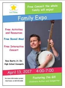 Family Expo in Cassapolis Michigan April 13 2017