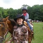OFFKM junior horse wrangler @ 4-H horse show