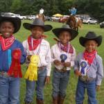 OFFKM junior horse wranglers ~ 4-H horse show winners